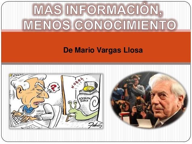 De Mario Vargas Llosa