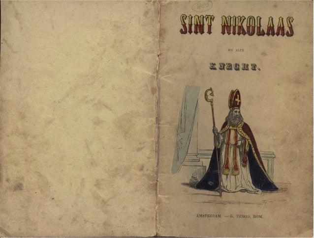 Sint Nikolaas en zijn knecht