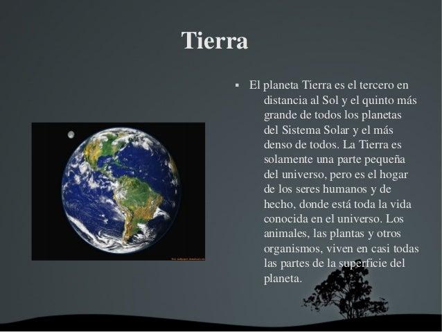 Planetas del sistema solar informatica - Caracteristicas de los planetas interiores ...
