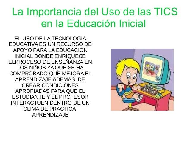 Importancia de las tics en educacion iicial for Importancia de los viveros forestales
