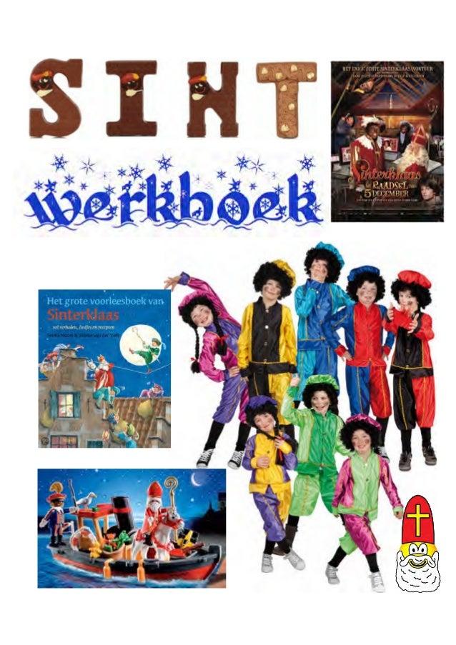 Sint werkboek voor sinterklaasfeest met werkbladen, woordzoekers, gedichten en puzzels, http://sites.google.com/site/sintw...