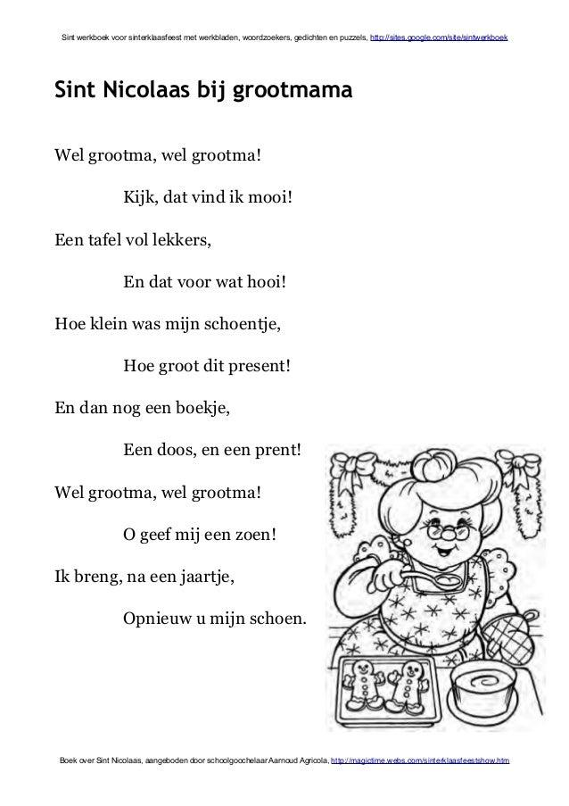 Verjaardag Vrouw Kleurplaat Sint Werkboek Met Complot Zwarte Piet Debat Bedrog En