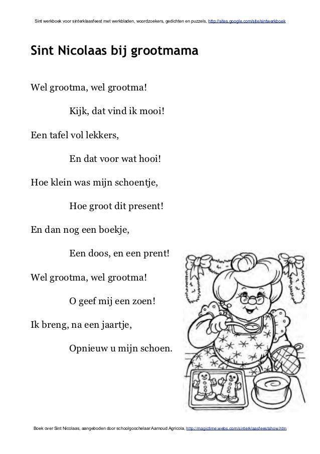 Sint Werkboek Met Sinterklaas Werkbladen En Activiteiten
