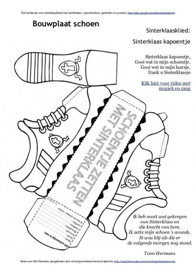 Kleurplaten Sinterklaas Bouwplaten.Sint Werkboek Met Sinterklaas Werkbladen En Activiteiten