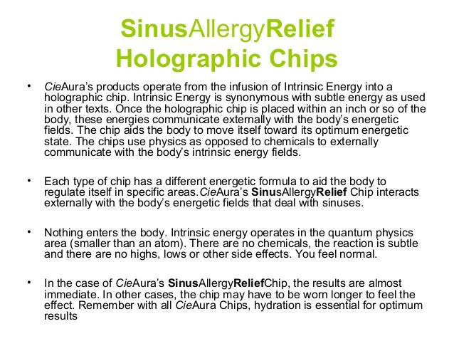 Sinus Allergyrelief