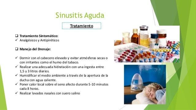 Sinusitis - Humidificar el ambiente ...