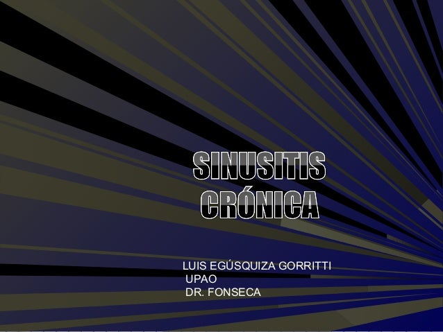 LUIS EGÚSQUIZA GORRITTI  UPAO  DR. FONSECA