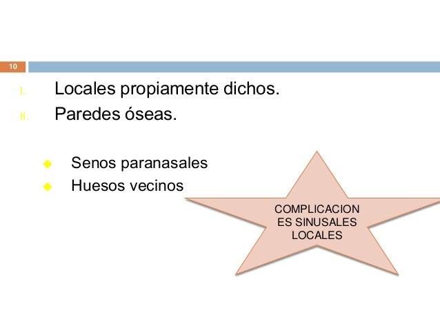 Sinusitis cr nica maria sanchez ortiz for Paredes orbitarias