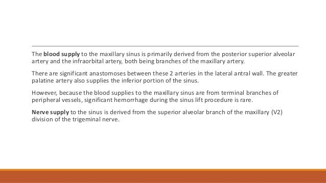 Nasal Floor Elevation : Sinus floor elevation