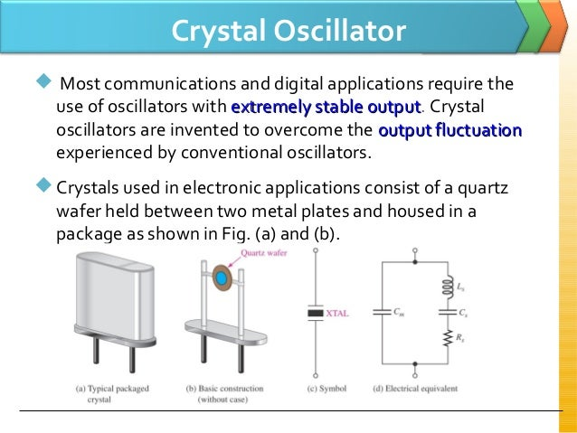 how crystal oscillator works pdf