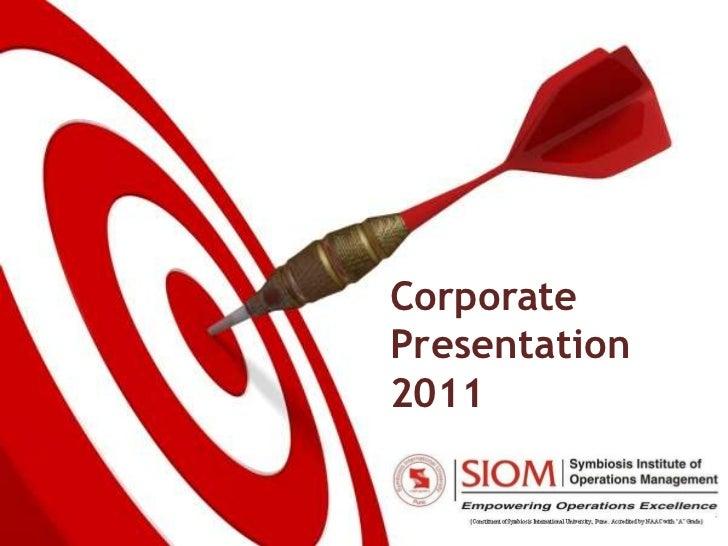 CorporatePresentation2011