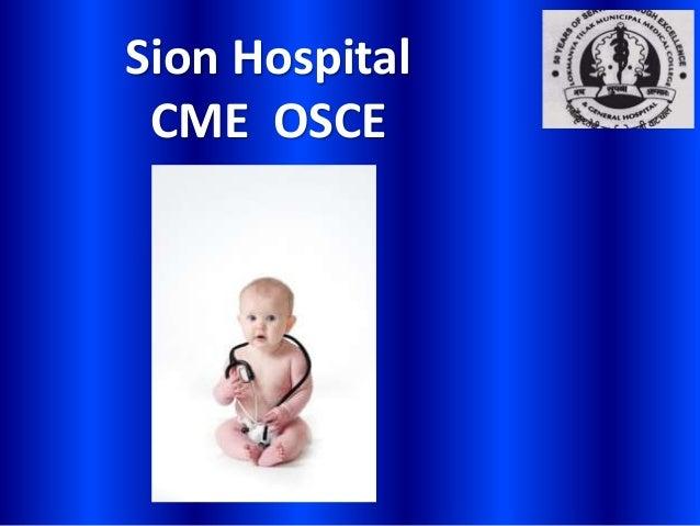 Sion HospitalCME OSCE
