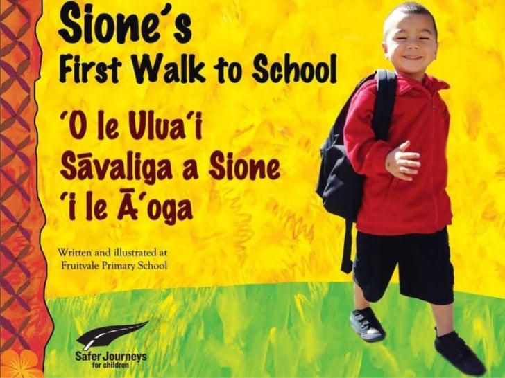 Sione's First Walk