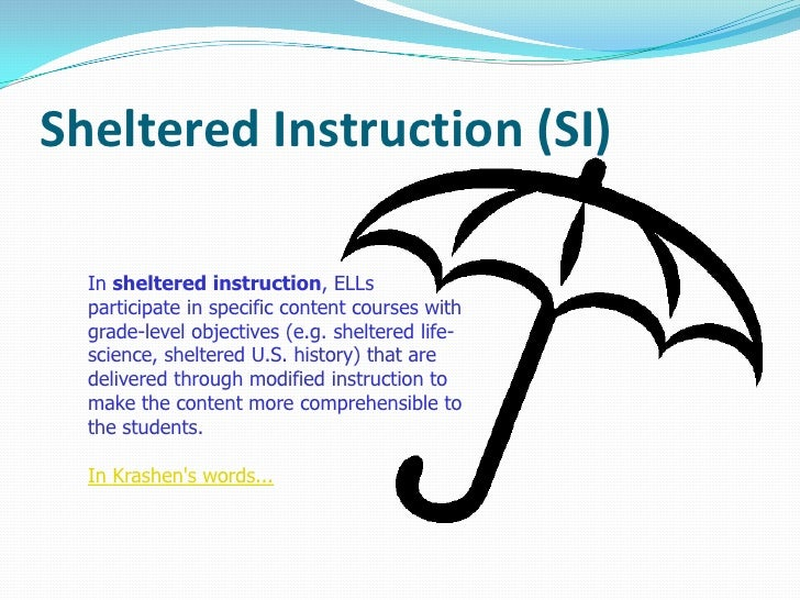Research validating sheltered instruction