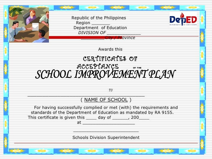 School improvement plan schools division superintendent 68 yadclub Image collections