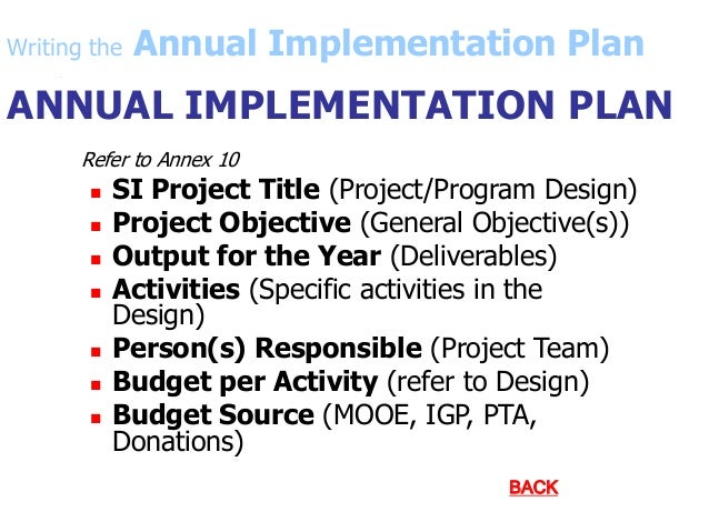 annual implementation plan 1 attached you will find the draft annual implementation plan for fy 2018 we encourage you to review the document and offer your comments, suggestions and/feedback.