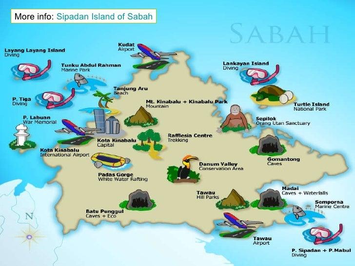 Sipadan Island of Sabah Malaysia