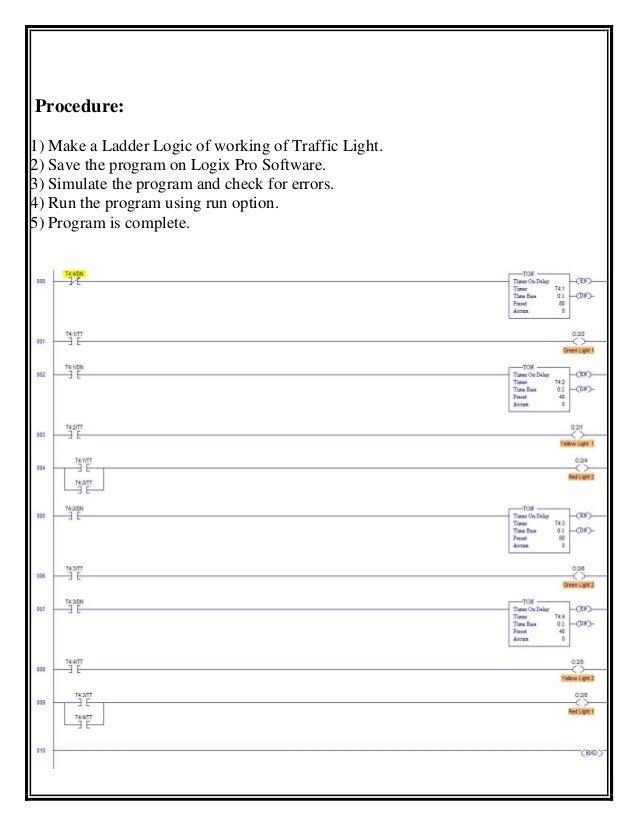 Lighting ladder diagram diy enthusiasts wiring diagrams summer internship report for plc programming of traffic light through rh slideshare net ladder diagram examples staircase lighting ladder diagram ccuart Choice Image