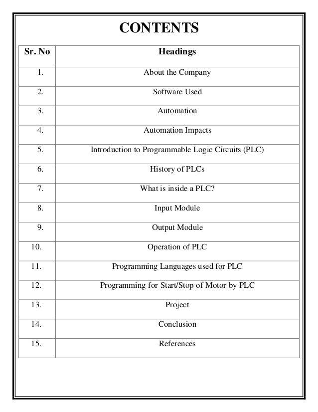 Summer internship report for plc programming of traffic light through 4 ccuart Gallery