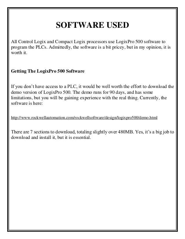 Summer internship report for plc programming of traffic light through 6 ccuart Gallery