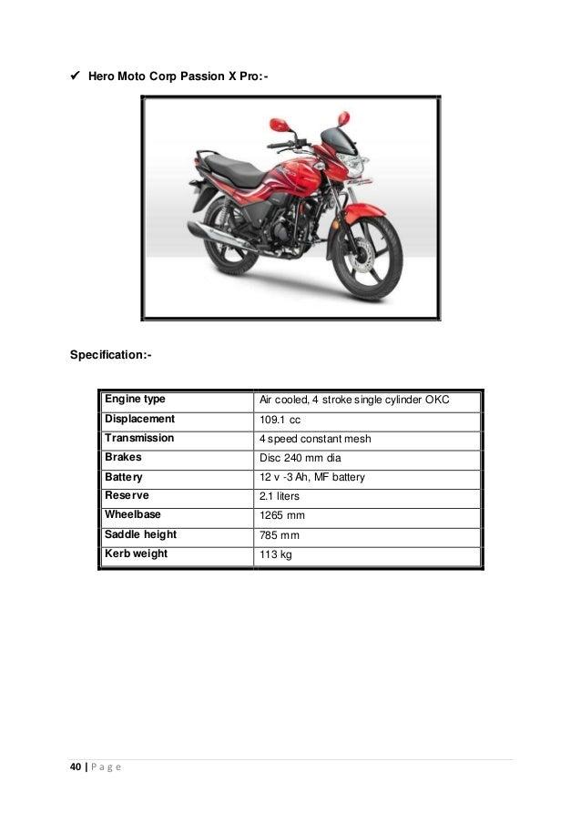 Sip Final Project 26 7 2014 Dhru Moto Corp Bardoli Dipak