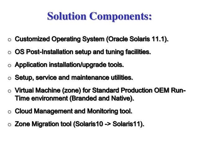 Oracle Solaris 11 platform for ECI Telecom private cloud infrastructu…