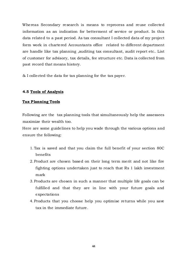 Tax Research Memo Template Income Planning University Pune By Shivaji Lande