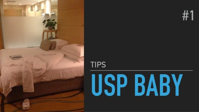 USP BABY TIPS #1