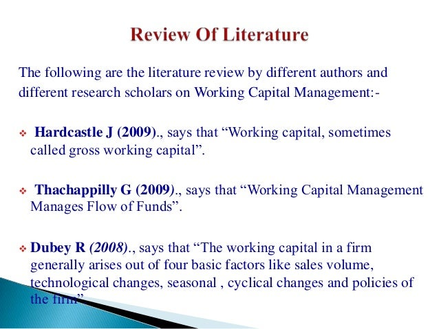 ineffective utilization of working caital Prior to working in state equity caital when it was announced which were often described as ineffective which is generally considered as a.