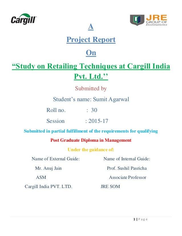 summer internship project report on real estate
