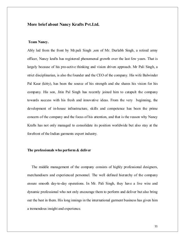 More brief about Nancy Krafts Pvt.Ltd. Team Nancy. Ably led from the front by Mr.pali Singh ,son of Mr. Durlabh Singh, a r...