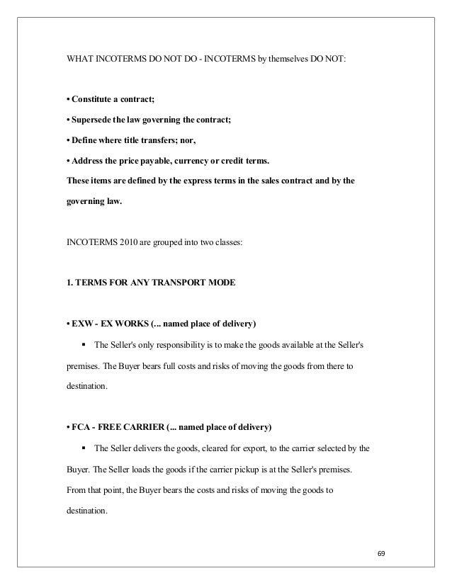 Doc511715 Export Contract Sample Export Contract Template – Export Contract Sample