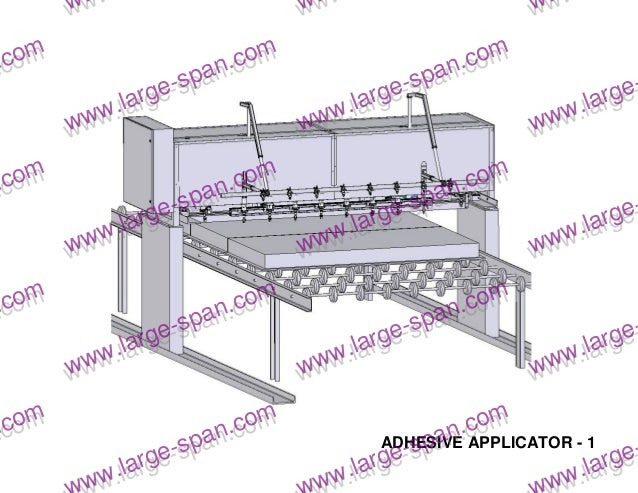 Sips structural insulated panels production line