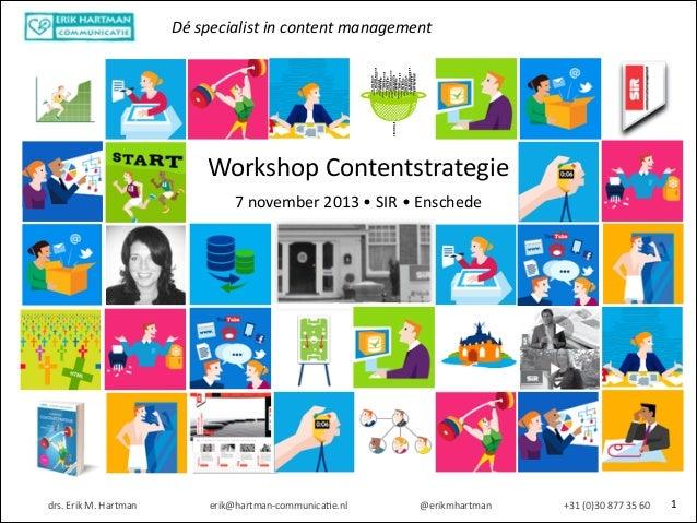 Dé  specialist  in  content  management informationoverload informationoverload informationoverload informationove...