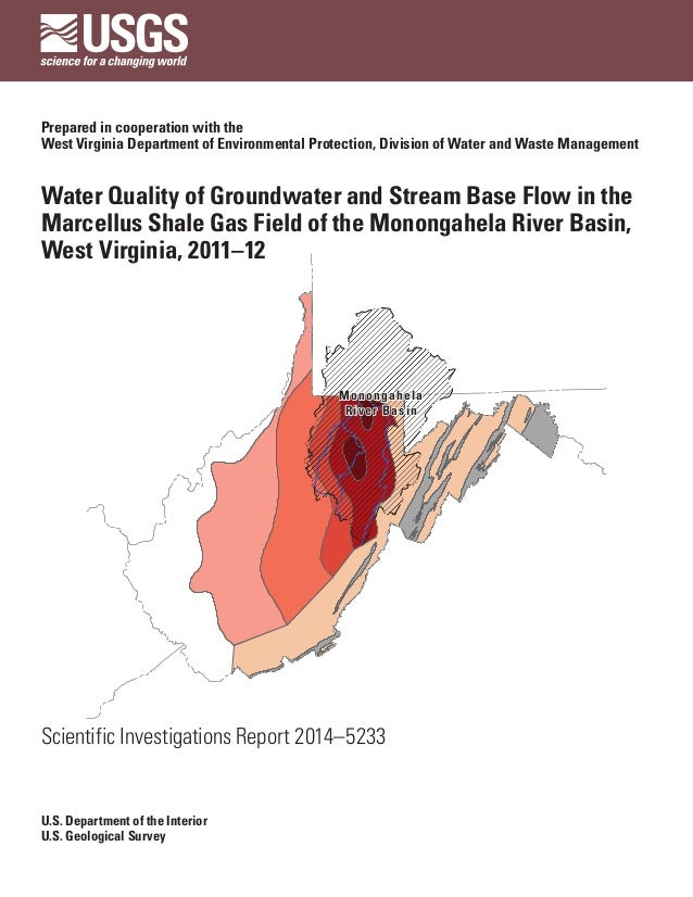 USGS Report: Water Quality in Mon River Basin Shows No Harm