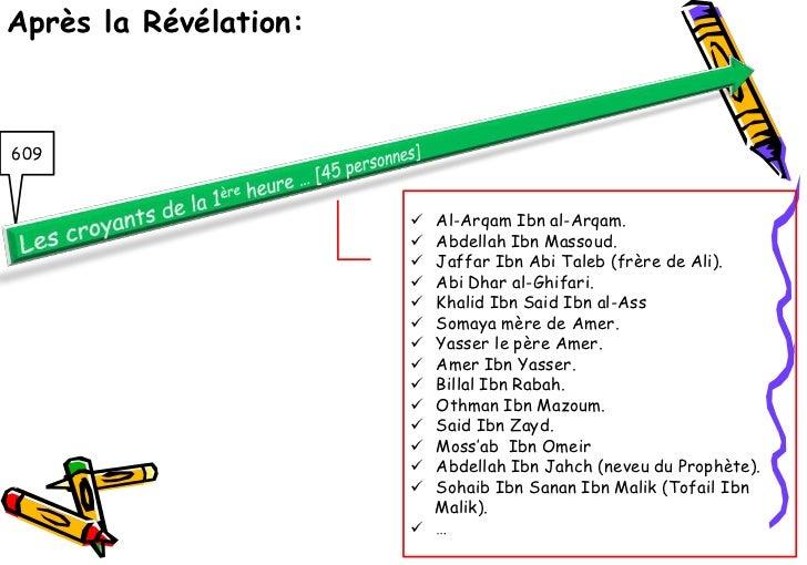 Après la Révélation:609                        Al-Arqam Ibn al-Arqam.                        Abdellah Ibn Massoud.      ...