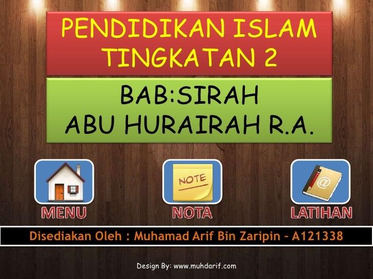 Genq Nota Pendidikan Islam Tingkatan 4