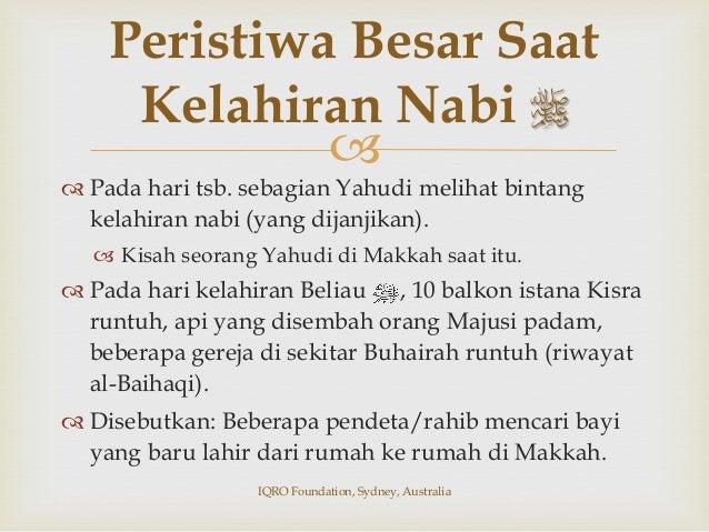 ٌدَّمَحُم  Muhammad (ٌدَّمَحُم) berasal adalah bentuk isim maf'ul َدَّمَح (memuji), sehingga bermak...
