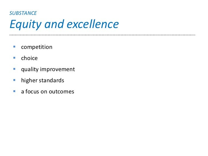 SUBSTANCEEquity and excellence____________________________________________________________________________________________...