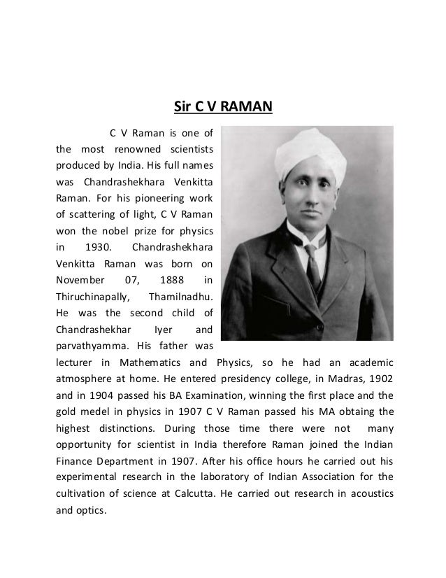 c v raman Copyright © 2018 c v raman group of institutions, all rights reserved.