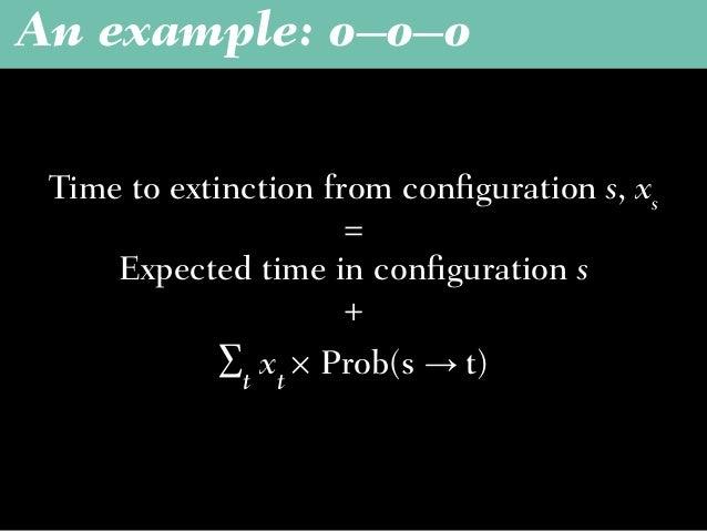 An example: o–o–o Yx + 1 = 0