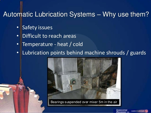Bijur Spray Mist Coolant System : Automatic lubrication systems their maintenance v