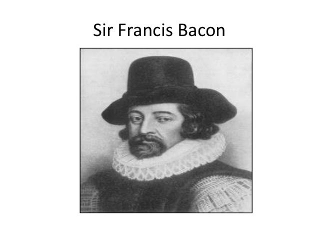 sir francis bacon research paper