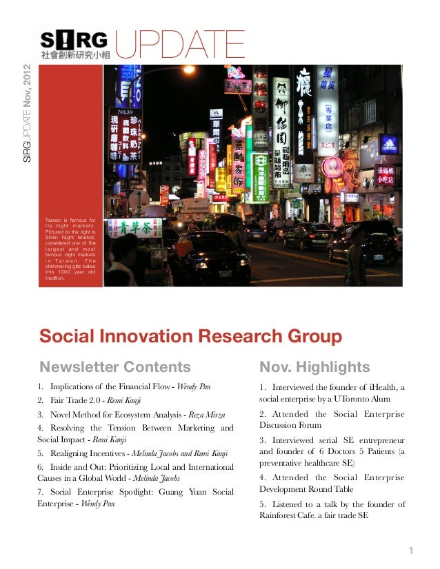 UPDATESIRGUPDATE Nov, 2012                         Taiwan is famous for                         its night markets.        ...