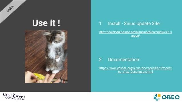 SiriusCon2016 - Let me Sirius that for you: Properties Views