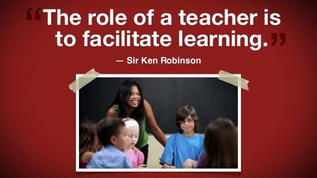 the role of a teacher