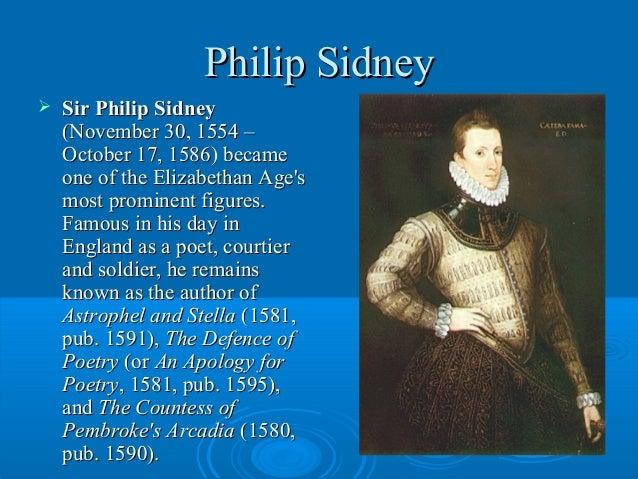Sir philip sidney (by egor tyurin  form 10 v)