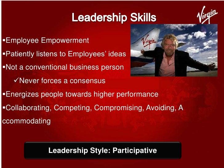 richard branson leadership skills