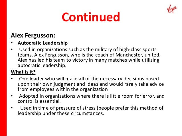 Sir Richard Branson, Chairman, Virgin Group, Ltd. Essay