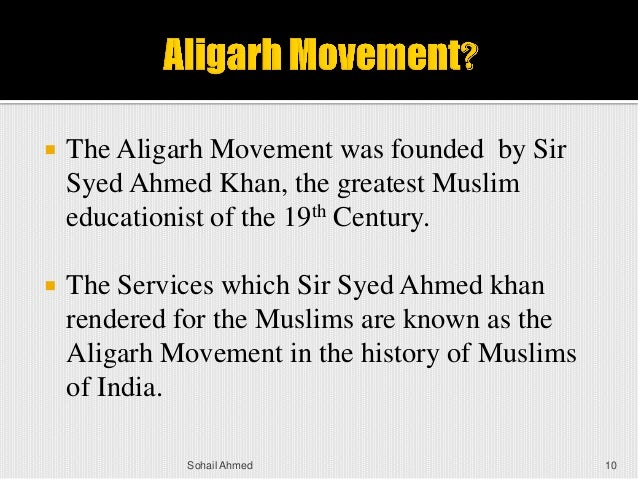 sir syed ahmed khan educational and political services Sir syed ahmed khan his services sir syed was extremely unhappy about the position of muslims in sir syed and politics in the political arena.